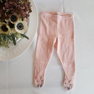 STELLA MCCARTNEY KIDS Baby Knit Leggings Bunny